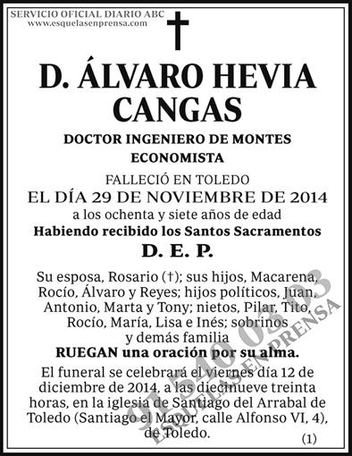 Álvaro Hevia Cangas